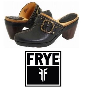 Frye Candice Woven Clog Mules, 8